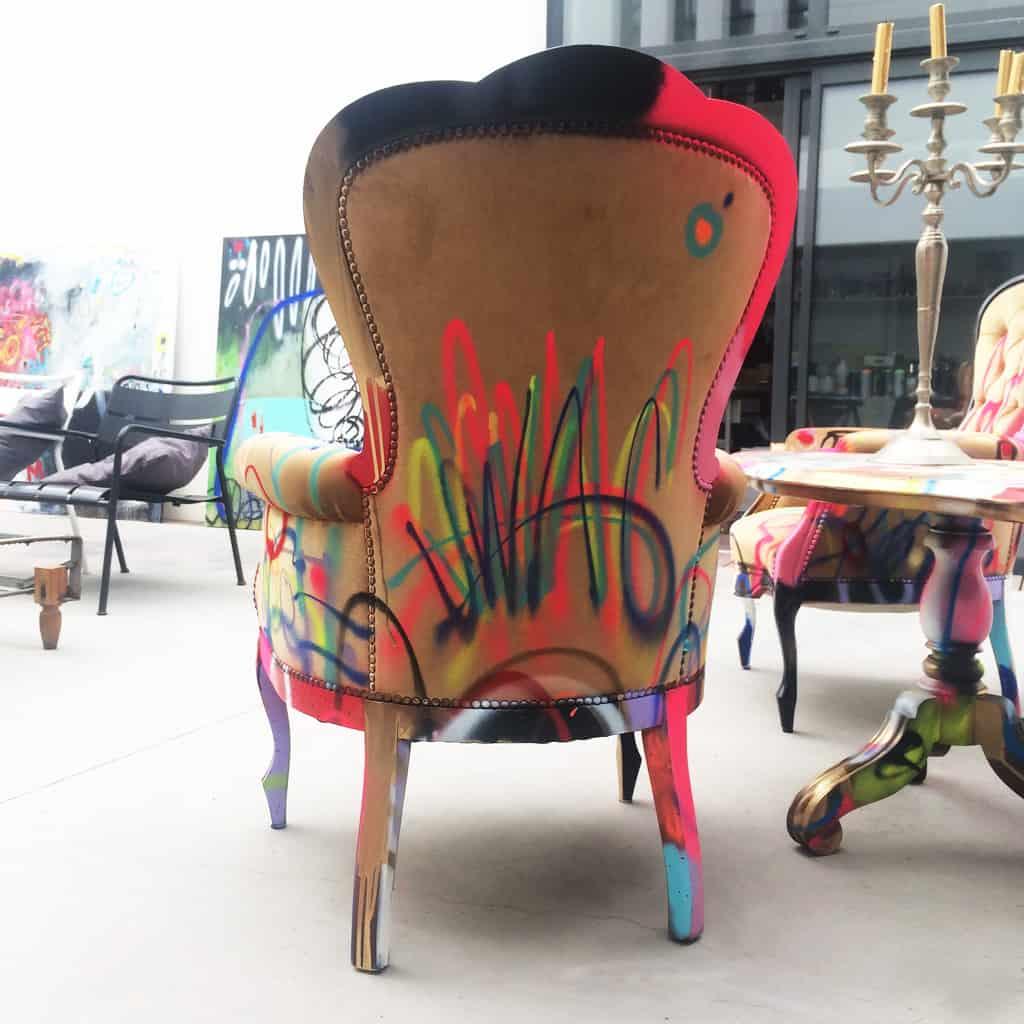 """Fauteuil customisé DONOMIQ dos """"Love Chair"""" 198"""