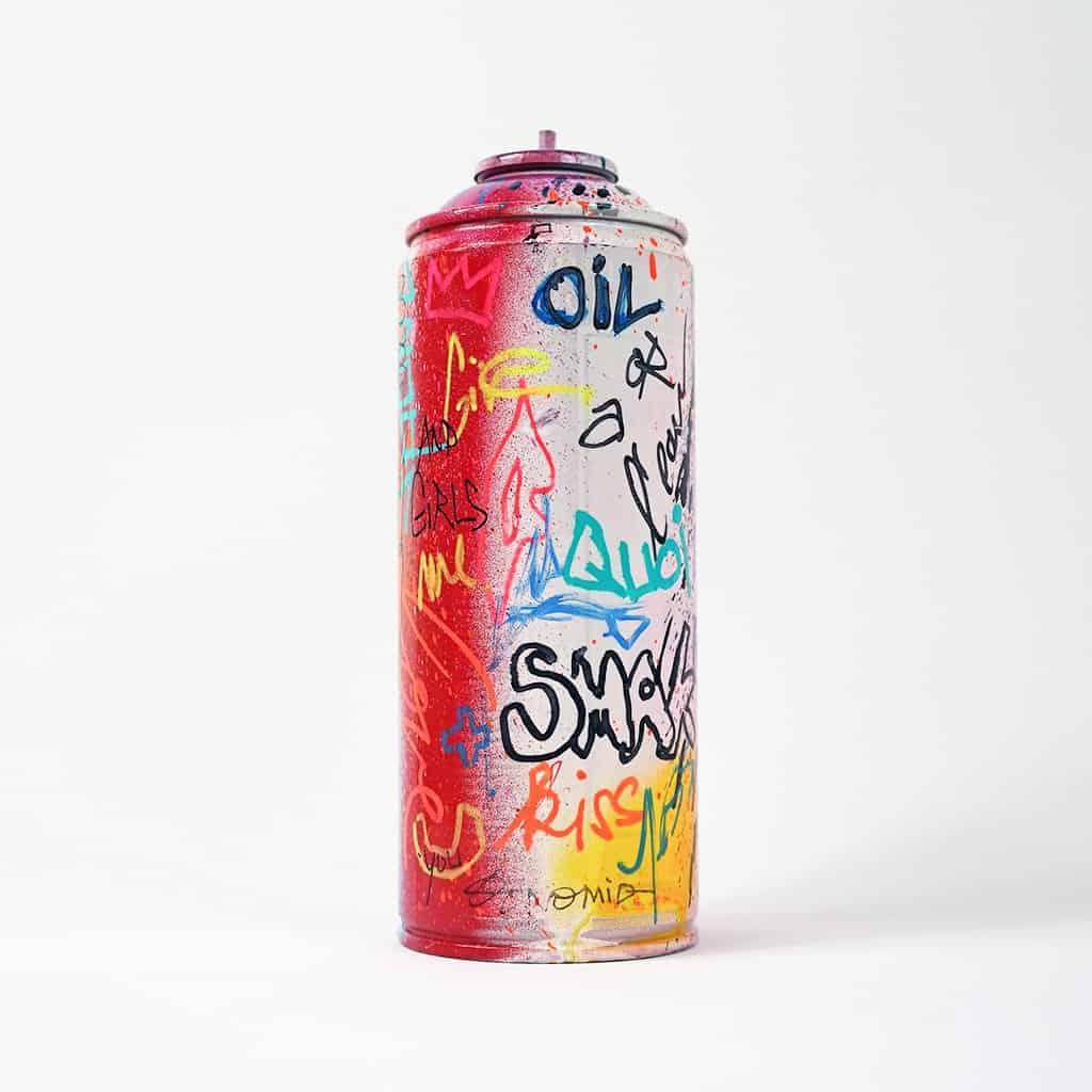 Bombe peinte DONOMIQ – B025