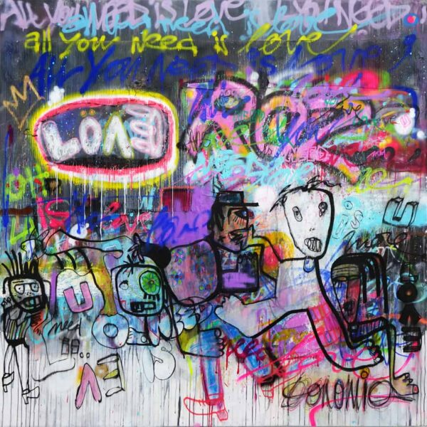 All you need is love 180 x 180
