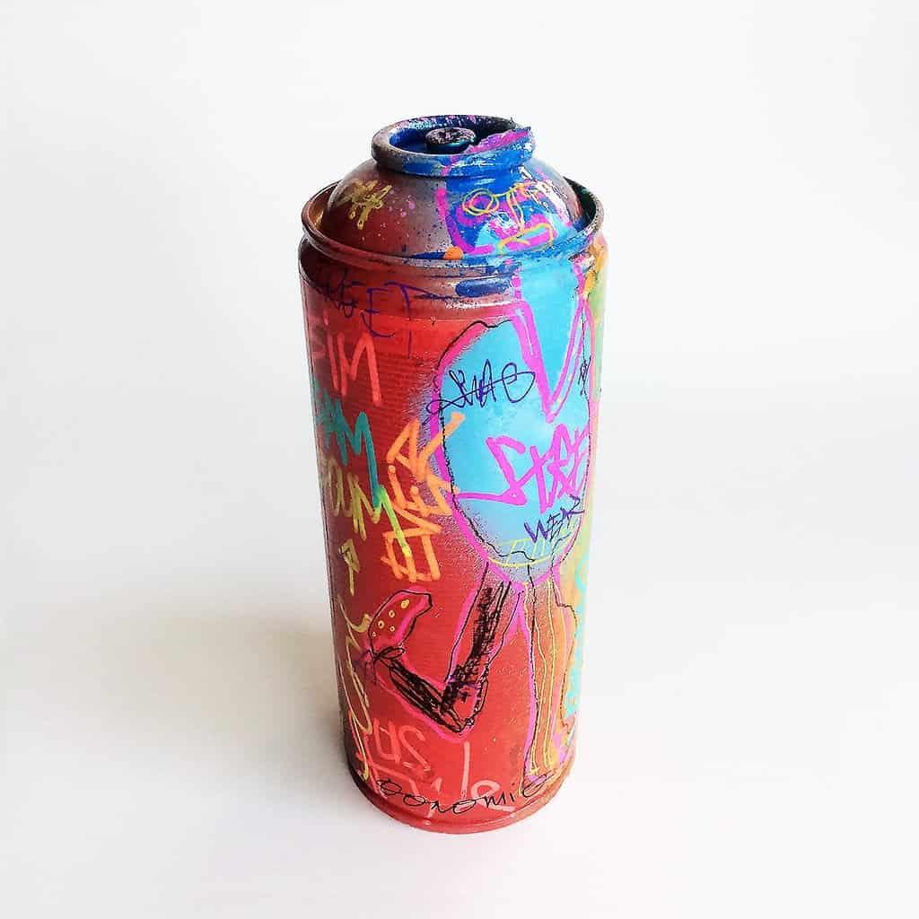 Bombe peinte DONOMIQ – B032