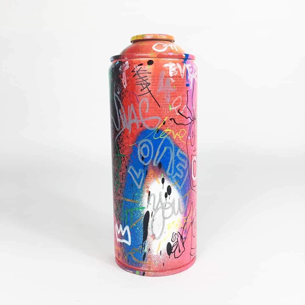 Bombe peinte DONOMIQ réf-035-02