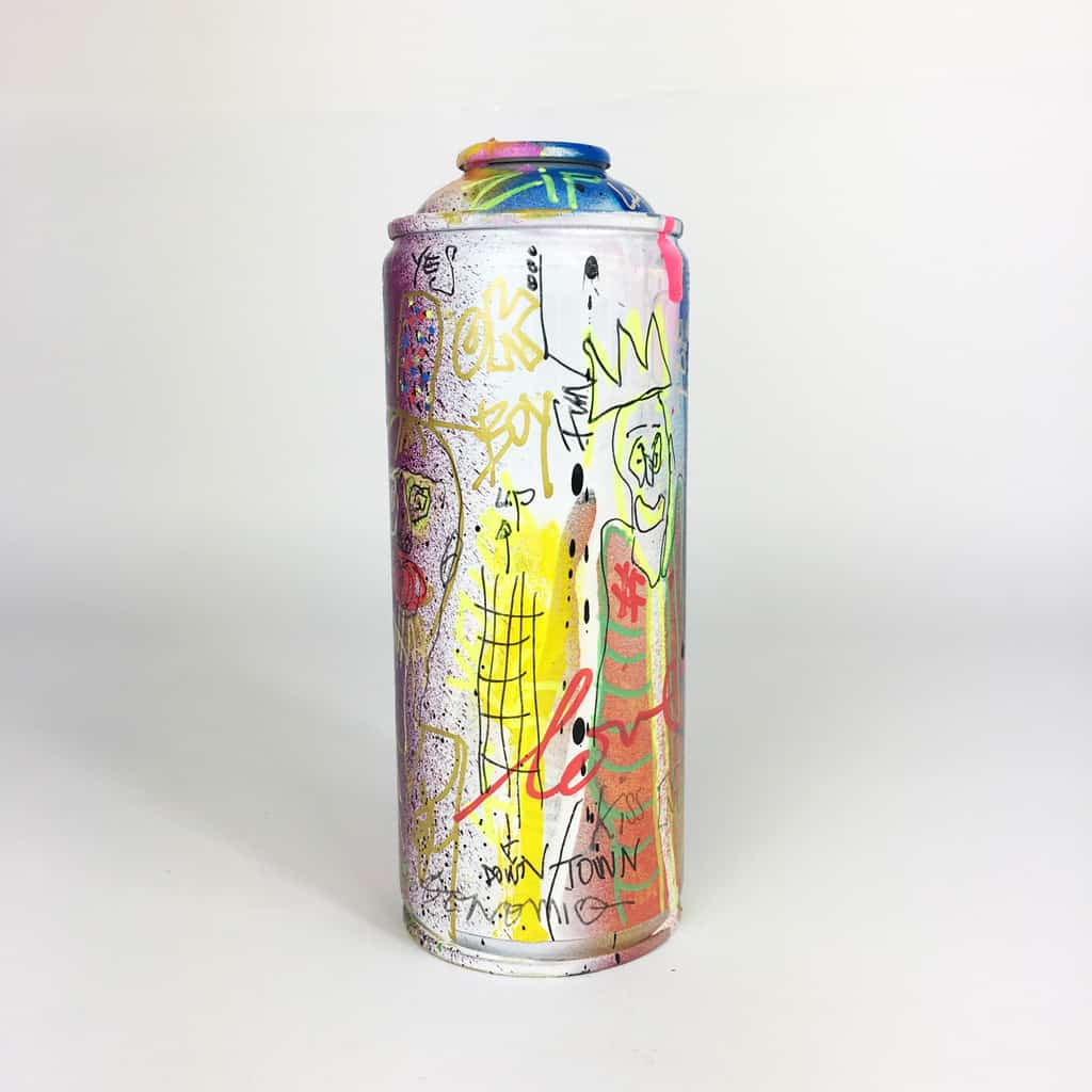 Bombe peinte DONOMIQ réf-036-04