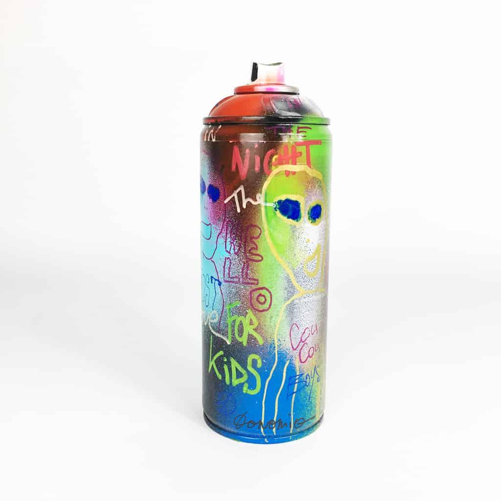 Bombe peinte DONOMIQ – B038