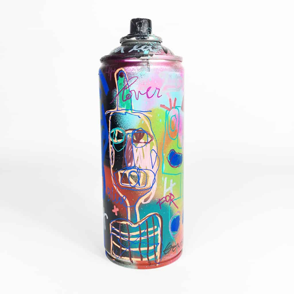 Bombe peinte DONOMIQ réf-039-01