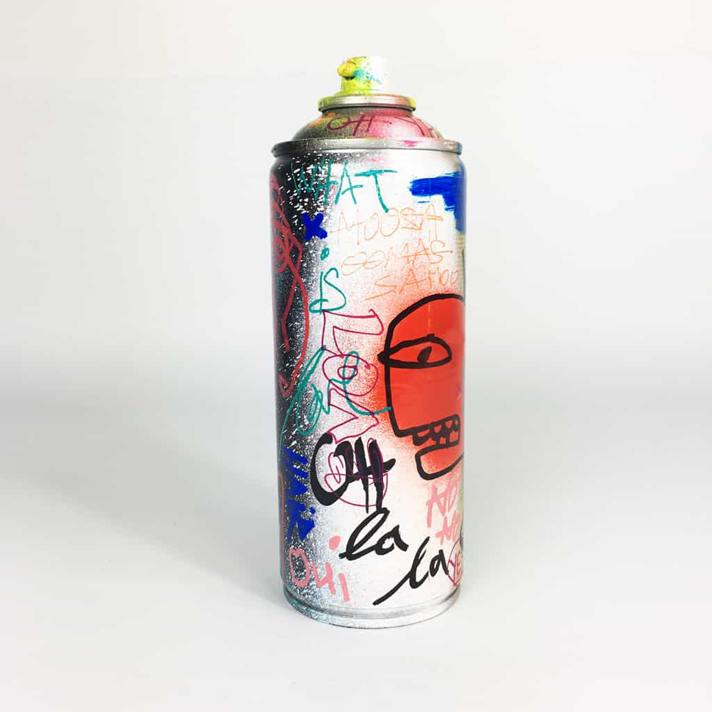 Bombe peinte DONOMIQ réf-040-01