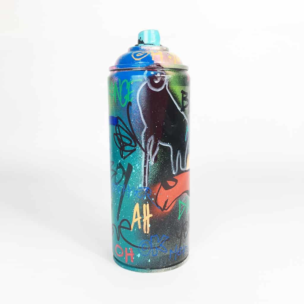 Bombe peinte DONOMIQ réf-041-03