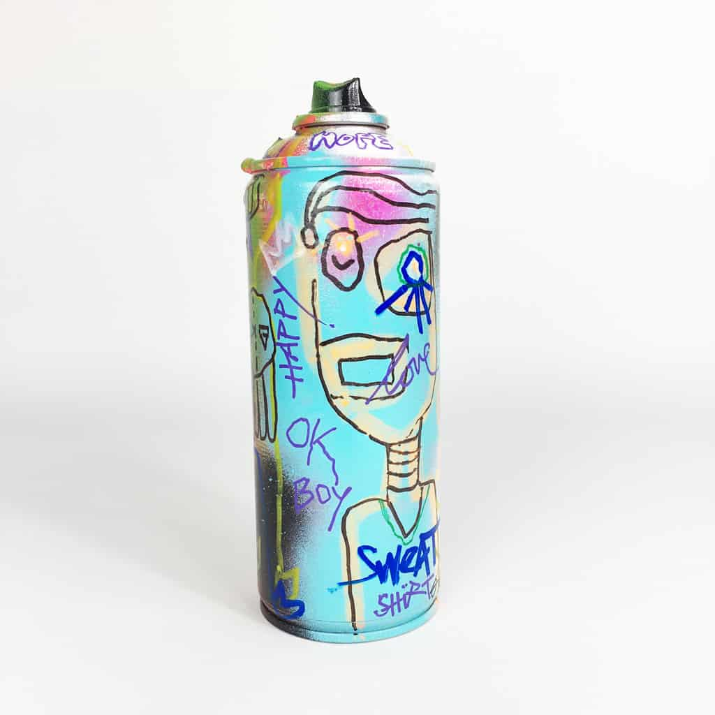 Bombe peinte DONOMIQ réf-042-01