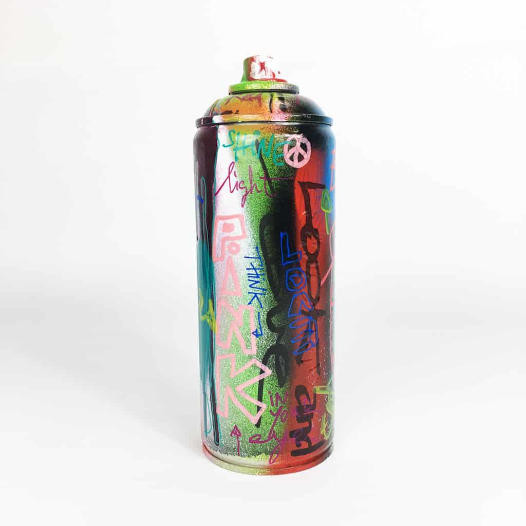 Bombe peinte DONOMIQ réf-046-01