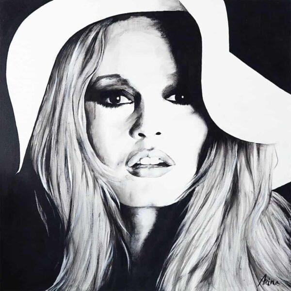 Toile MINA – B.Bardot