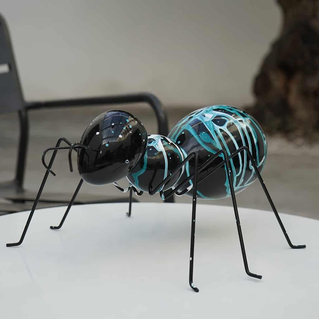La fourmi turquoise 200€ - 04