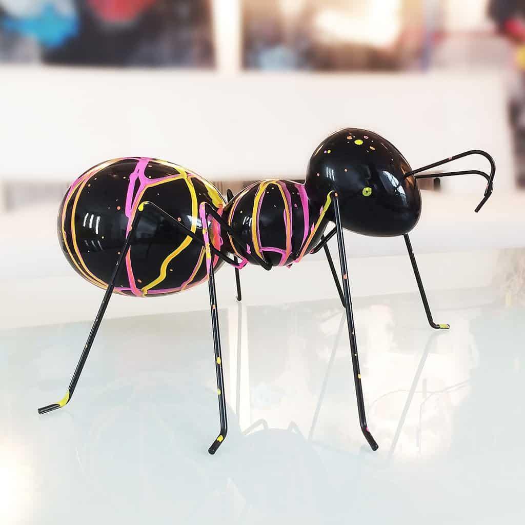 La fourmi rose
