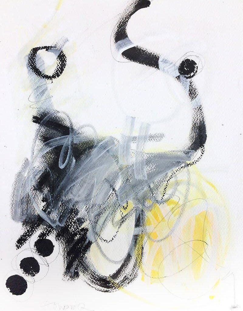 Peinture sur papier DONOMIQ – P173