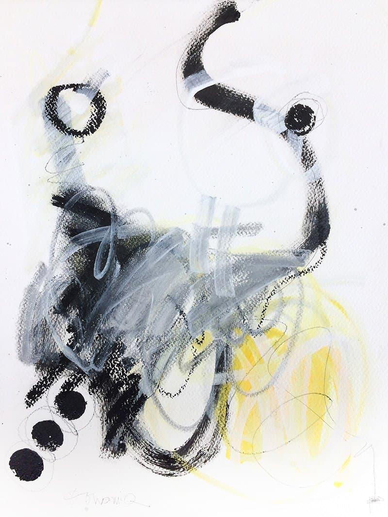 Peinture sur papier DONOMIQ - P173 - 01