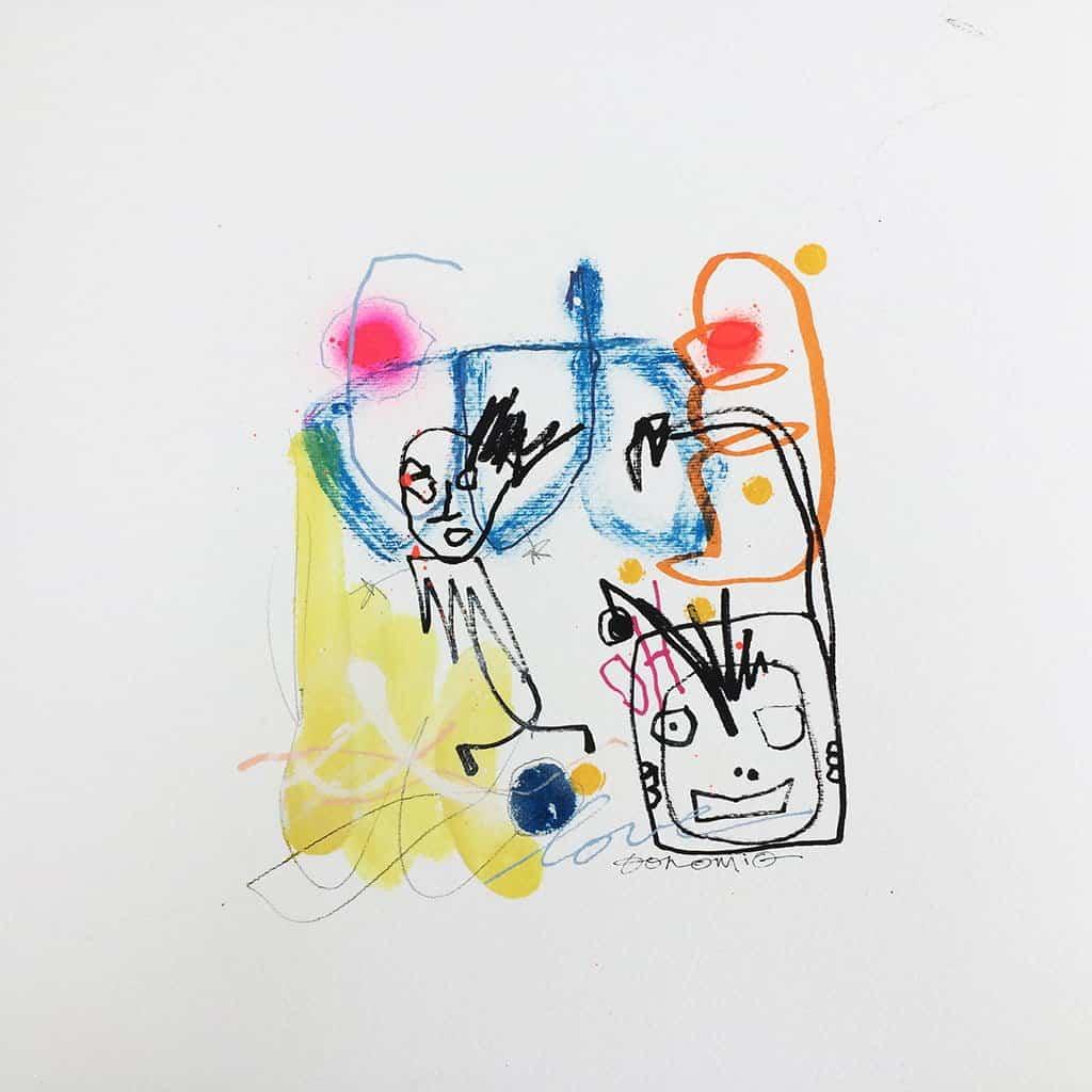 Peinture sur papier DONOMIQ - p179-01