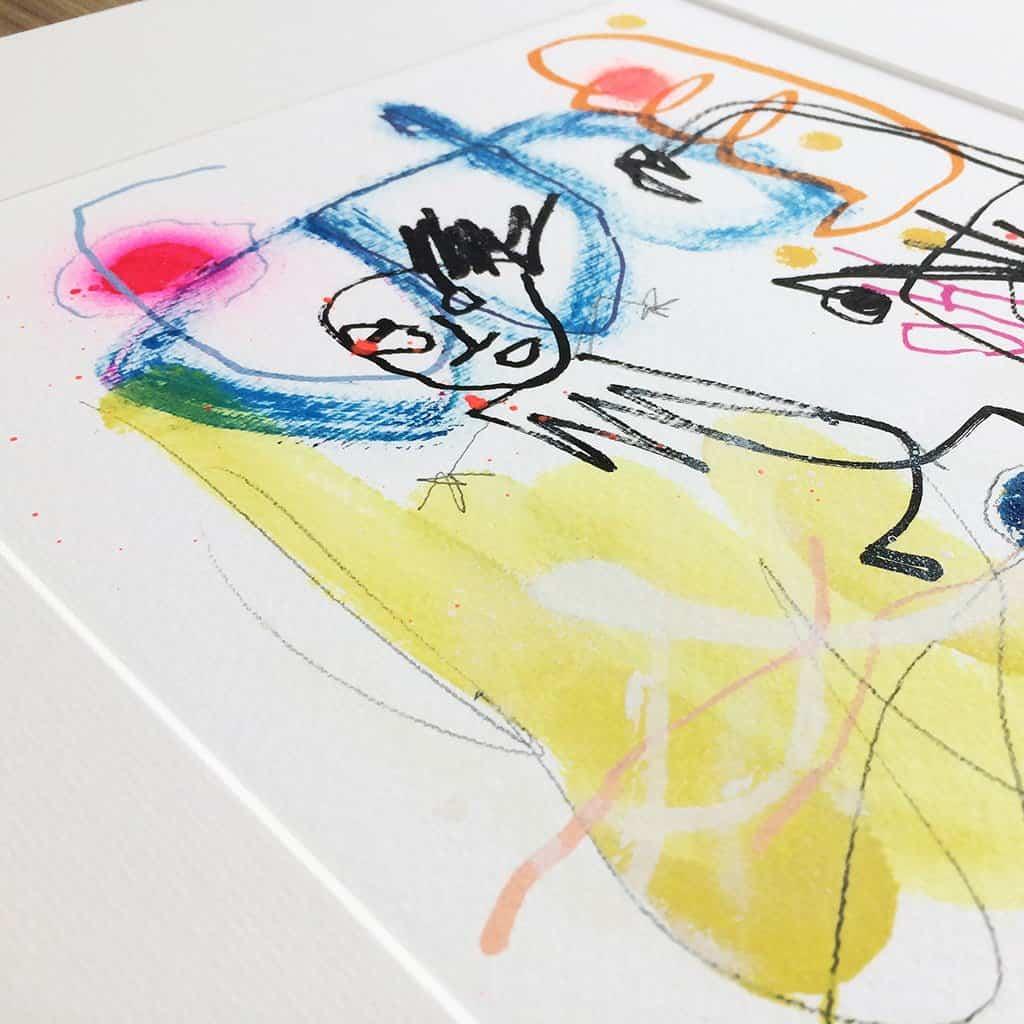 Peinture sur papier DONOMIQ - p179-03