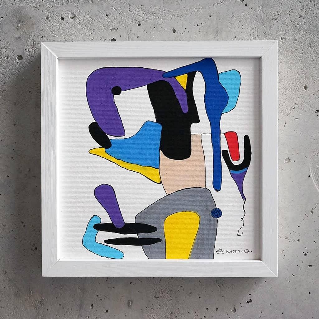 Peinture sur papier DONOMIQ – P105