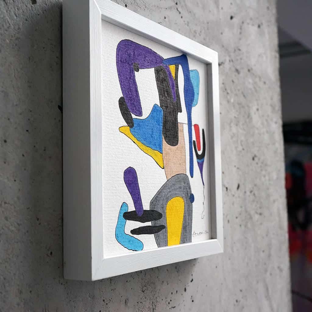 Peinture sur papier DONOMIQ - p105-02