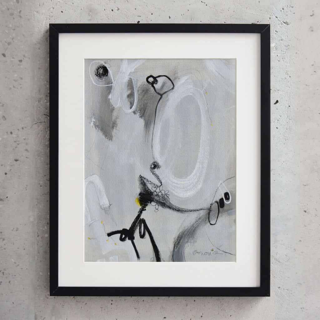 Peinture sur papier DONOMIQ – P122