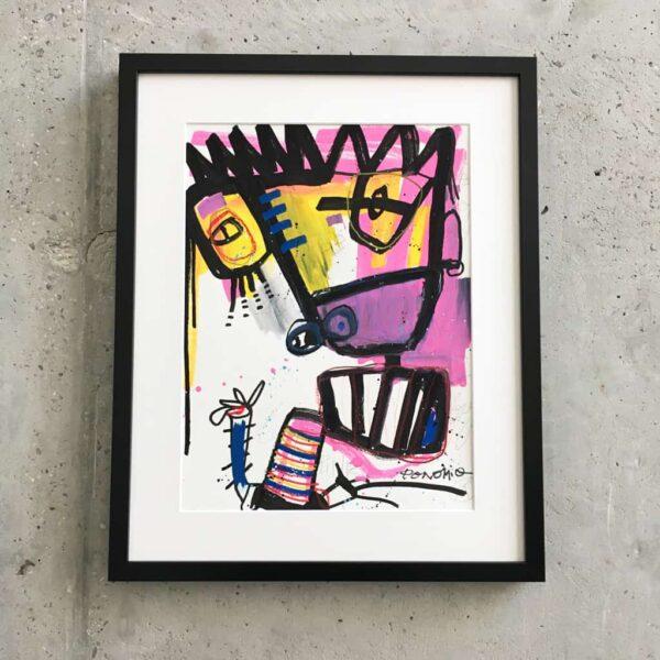 Peinture sur papier DONOMIQ – P188