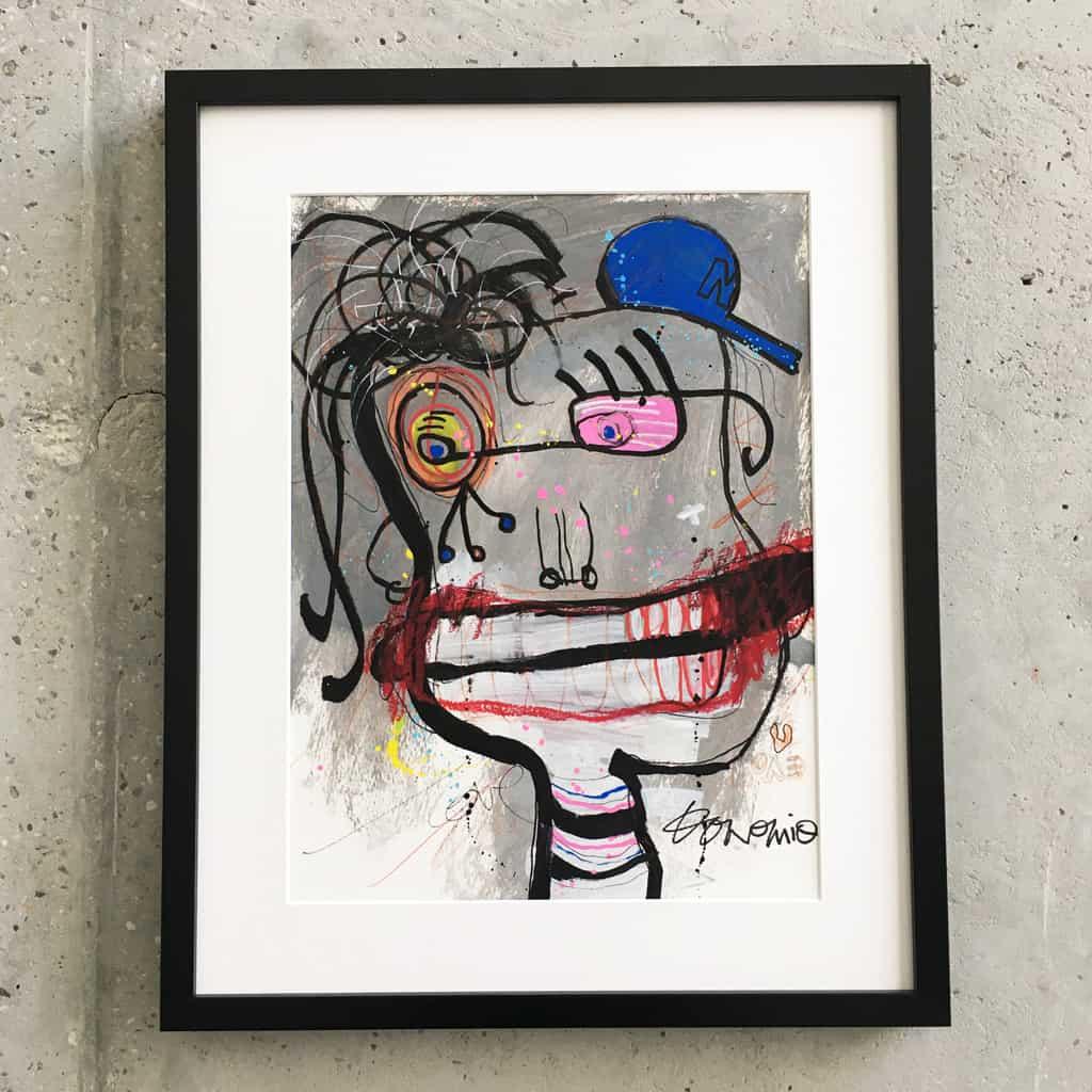 Peinture sur papier DONOMIQ – P192