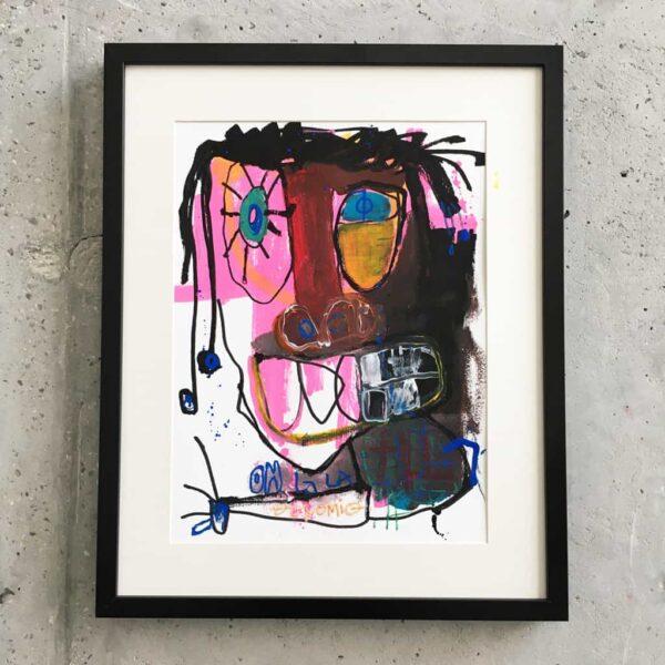 Peinture sur papier DONOMIQ – P194