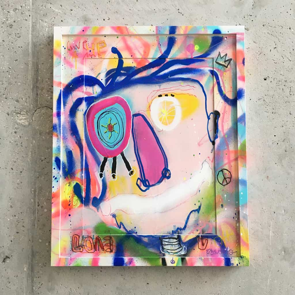 Peinture sur papier DONOMIQ – P197