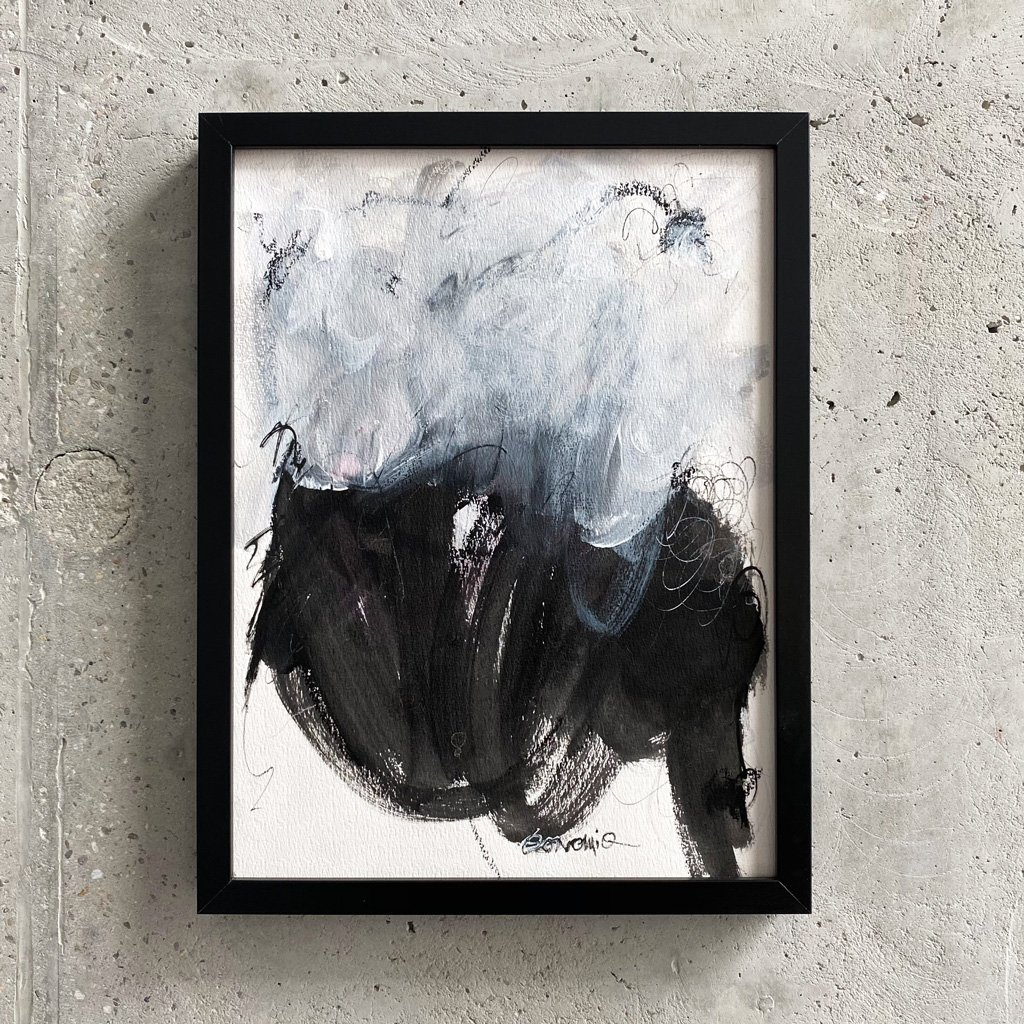 Peinture sur papier DONOMIQ – P218