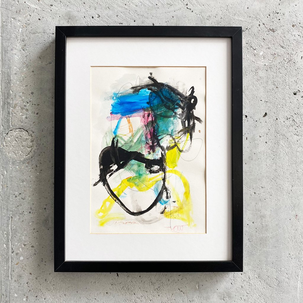 Peinture sur papier DONOMIQ – P219