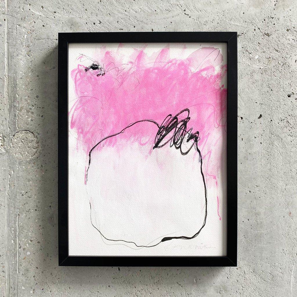 Peinture sur papier DONOMIQ – P224