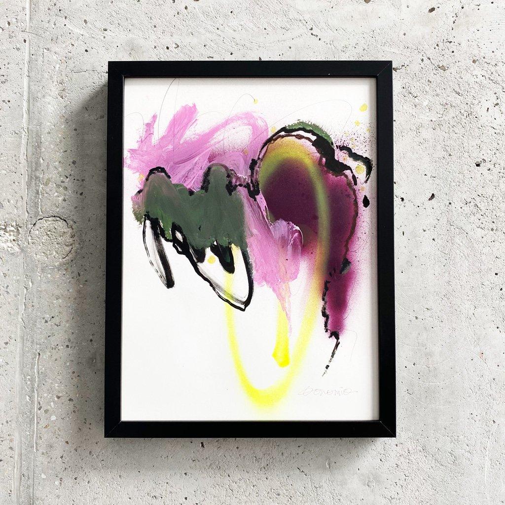 Peinture sur papier DONOMIQ – P225