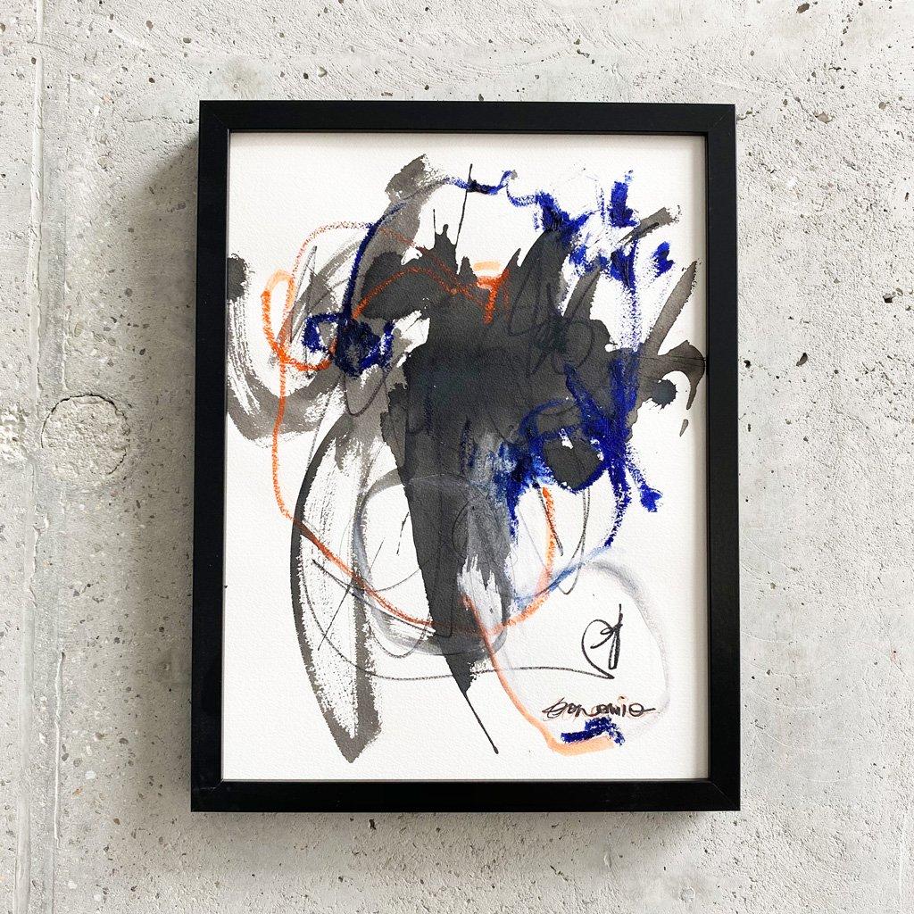 Peinture sur papier DONOMIQ – P226