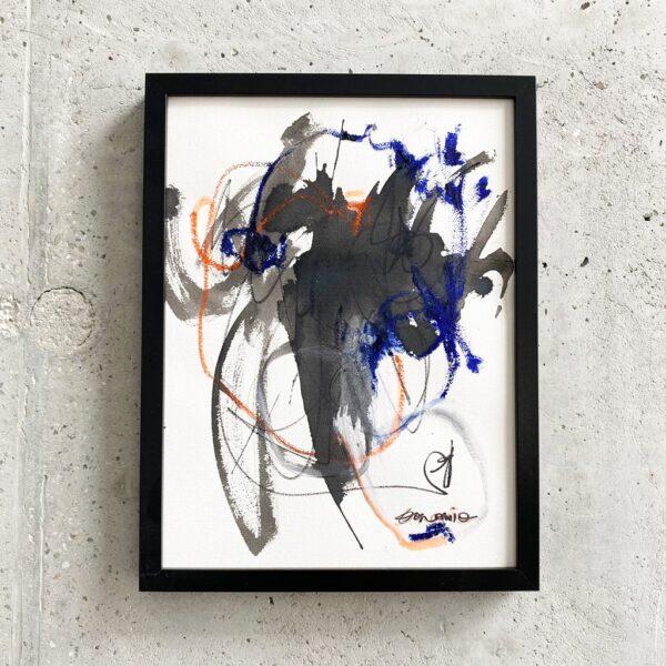 Peinture sur papier DONOMIQ – P227