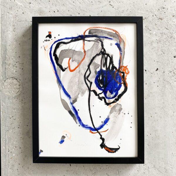 Peinture sur papier DONOMIQ – P228