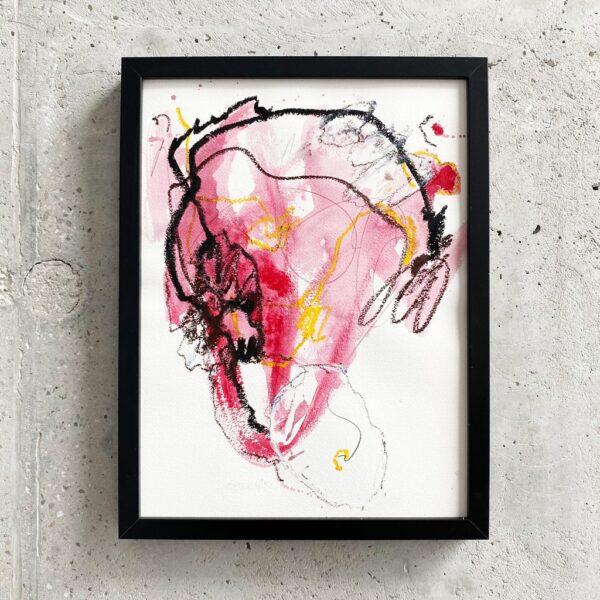 Peinture sur papier DONOMIQ – P229