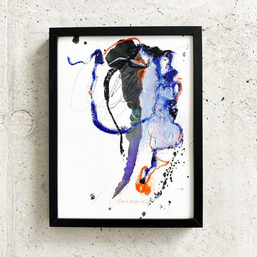 Peinture sur papier DONOMIQ – P230