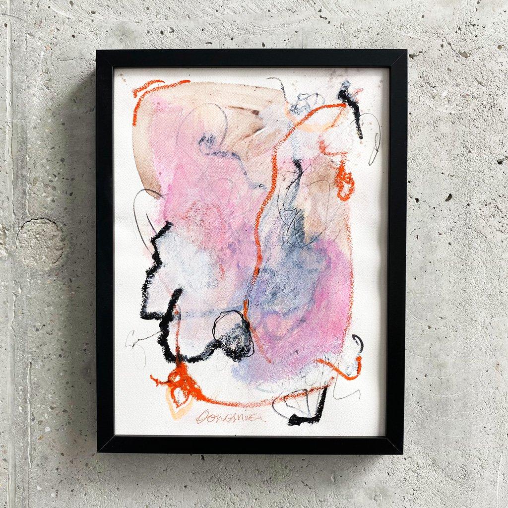 Peinture sur papier DONOMIQ – P231