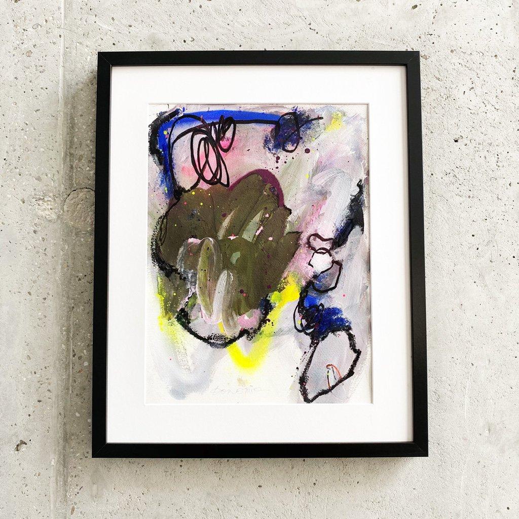 Peinture sur papier DONOMIQ – P233