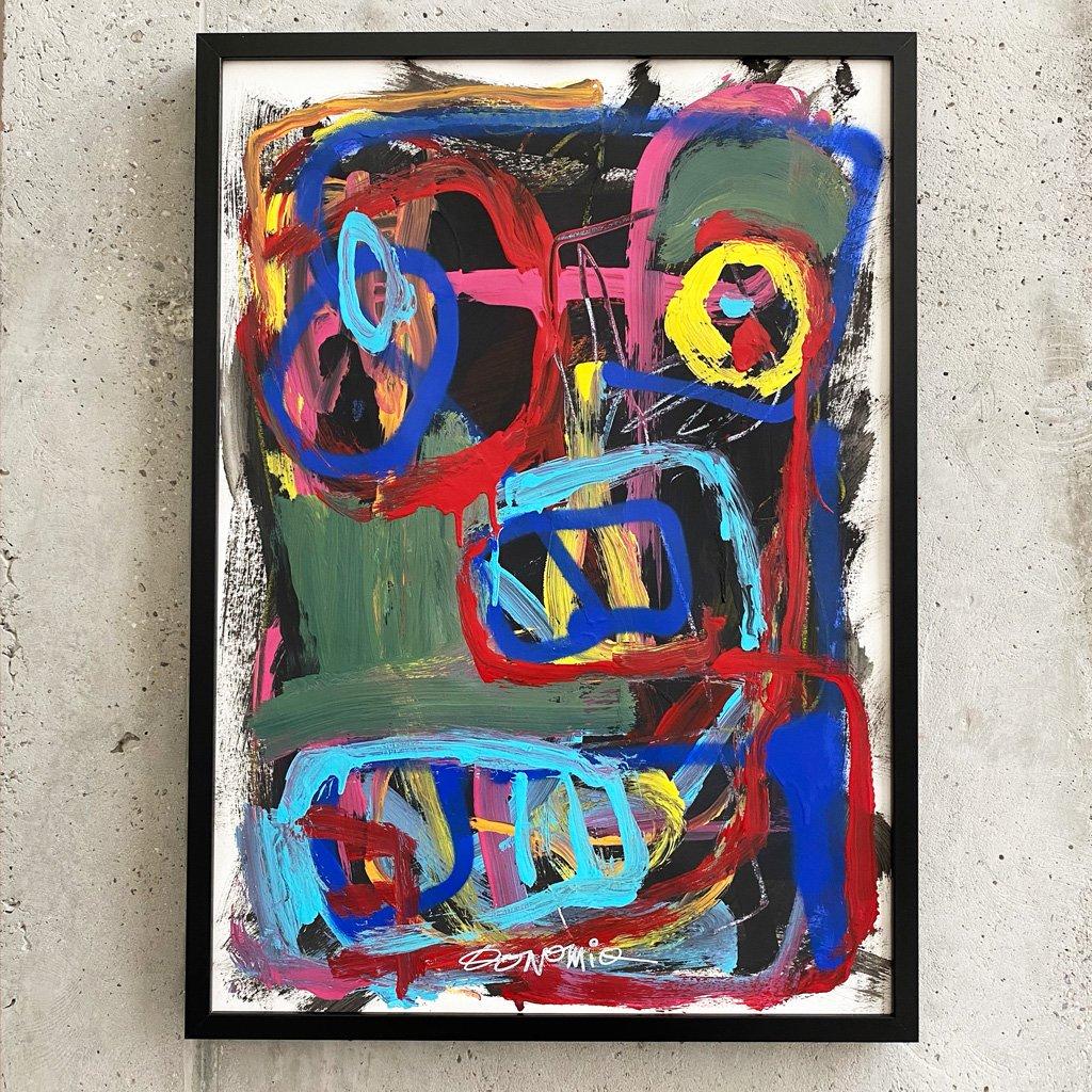 Peinture sur papier DONOMIQ – P235