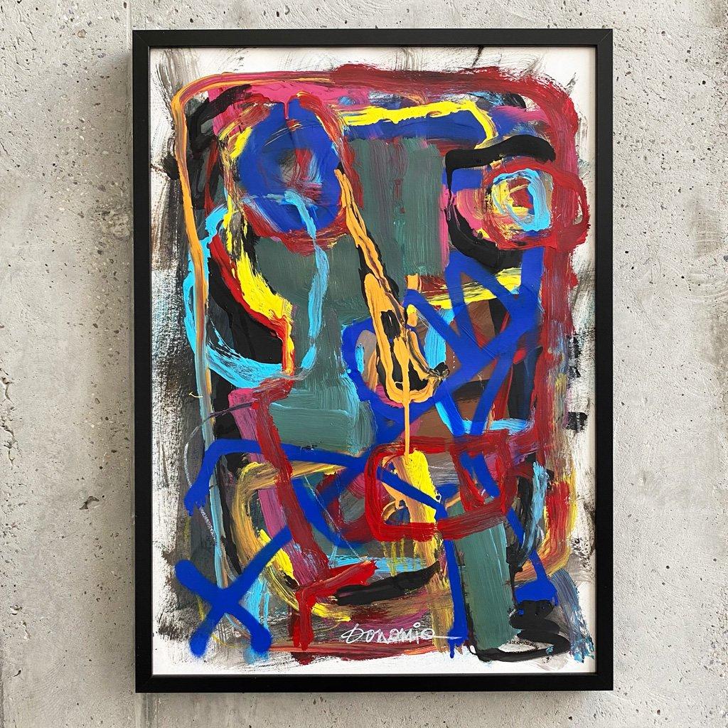 Peinture sur papier DONOMIQ – P236