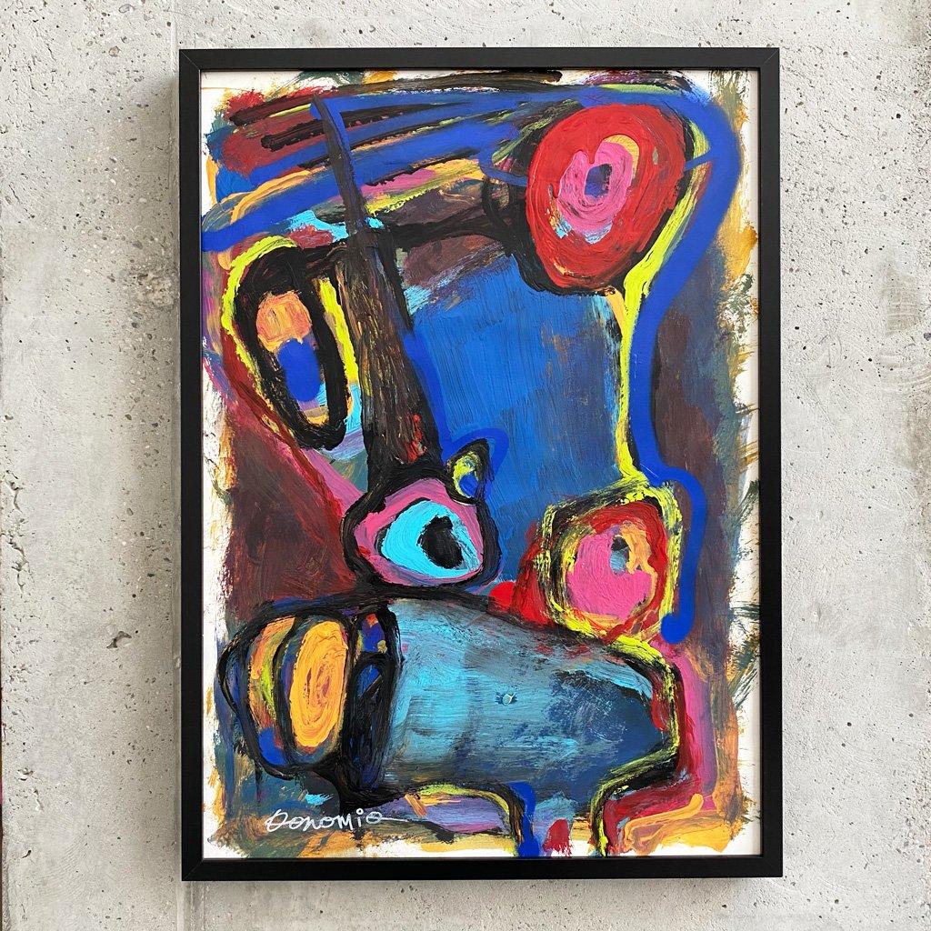 Peinture sur papier DONOMIQ – P239