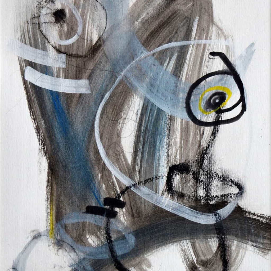 Peinture sur papier DONOMIQ - P1513 - 02