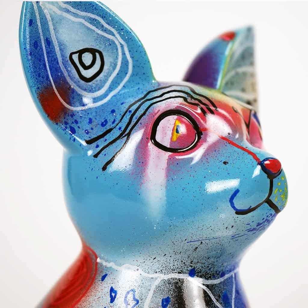 Customisation DONOMIQ - petit chien bleu 01
