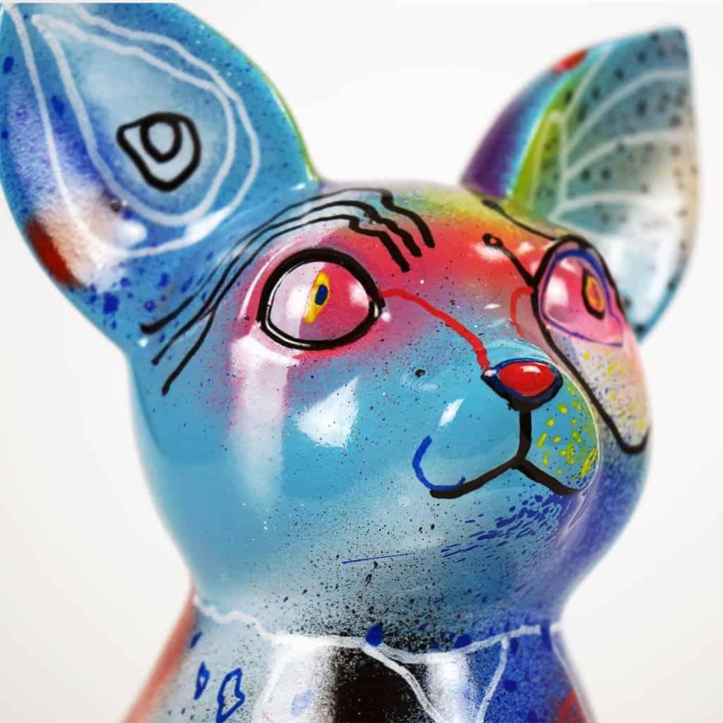 Customisation DONOMIQ - petit chien bleu 02