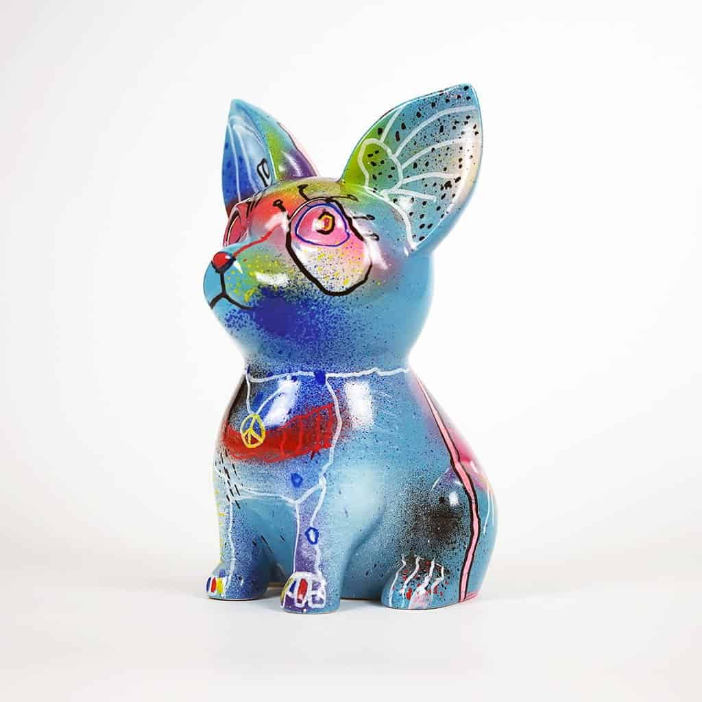 Customisation DONOMIQ - petit chien bleu 03