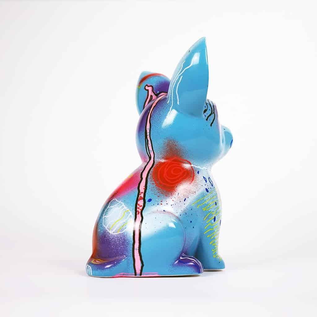 Customisation DONOMIQ - petit chien bleu 05